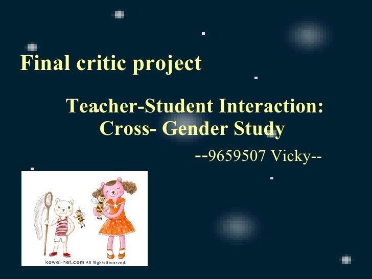 Final Critic Project