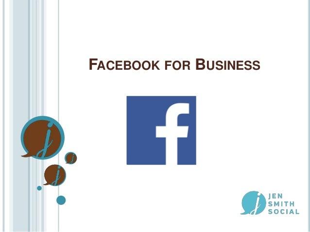 Facebook for Business - Women Communicators of Austin