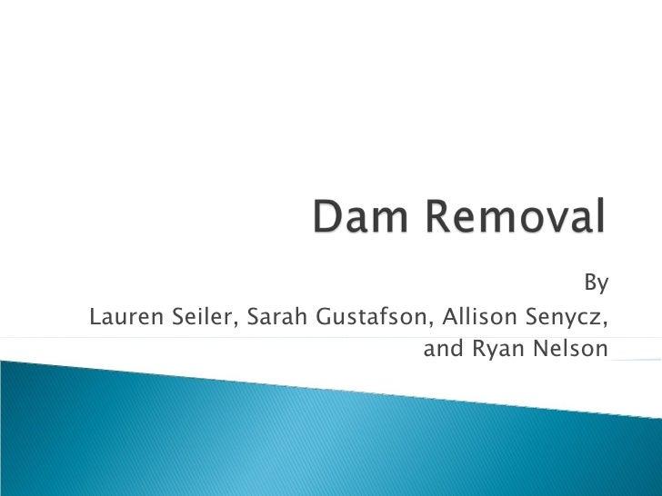 By Lauren Seiler, Sarah Gustafson, Allison Senycz, and Ryan Nelson