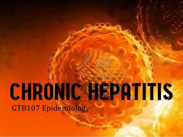 CHRONIC HEPATITISGTB107 Epidemiology