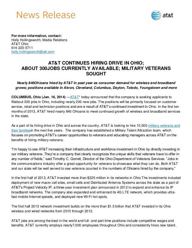 Final   hh - 14.1.16 - ohio january hiring announcement