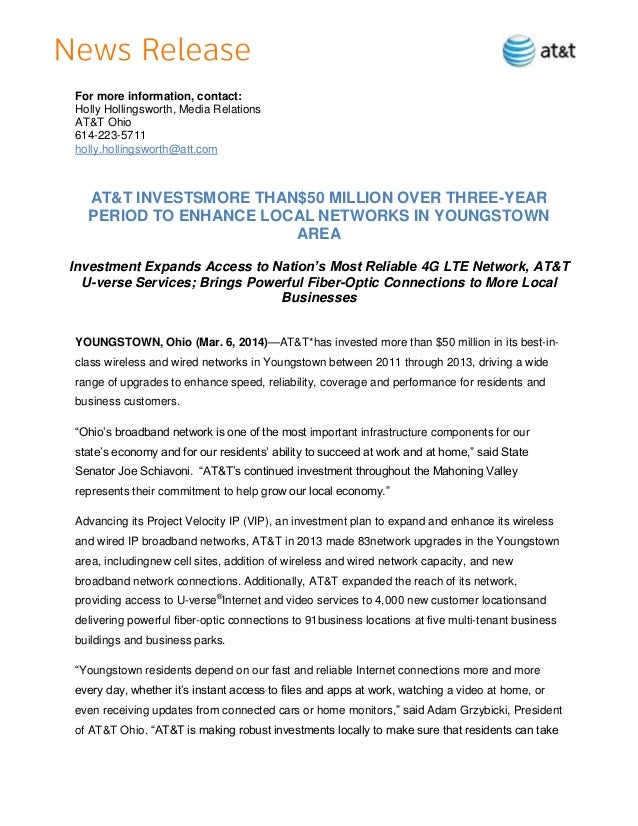 Final   hh - 14.3.6 - 2013 capex youngstown release