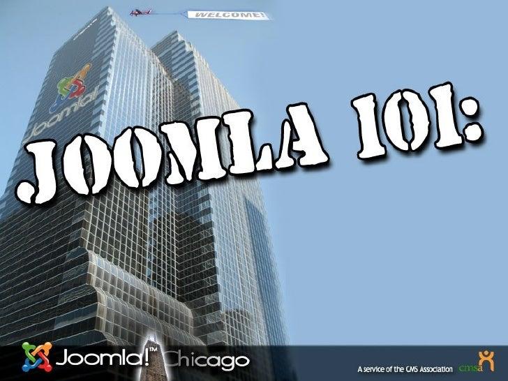 Joomla Basics Part 2