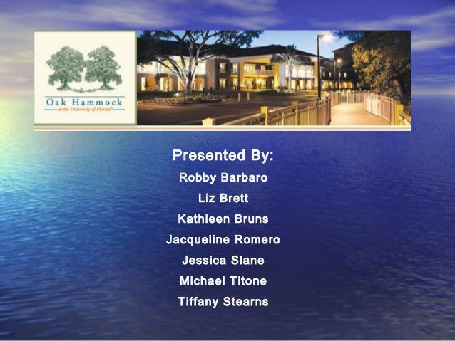 Presented By: Robby Barbaro Liz Brett Kathleen Bruns Jacqueline Romero Jessica Slane Michael Titone Tiffany Stearns