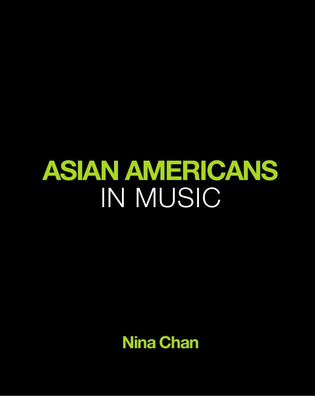 Asian Americans in Music