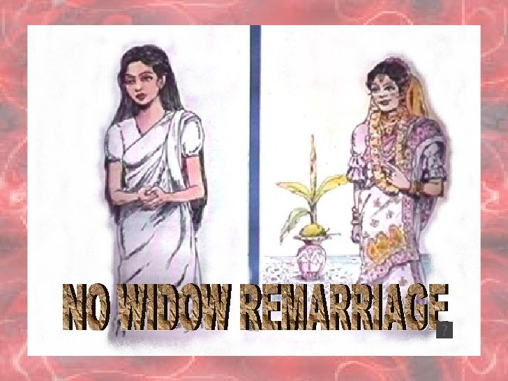 Widow girl for marriage