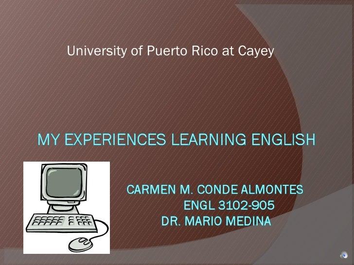 University of Puerto Rico at Cayey