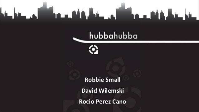 Robbie Small David Wilemski Rocio Perez Cano