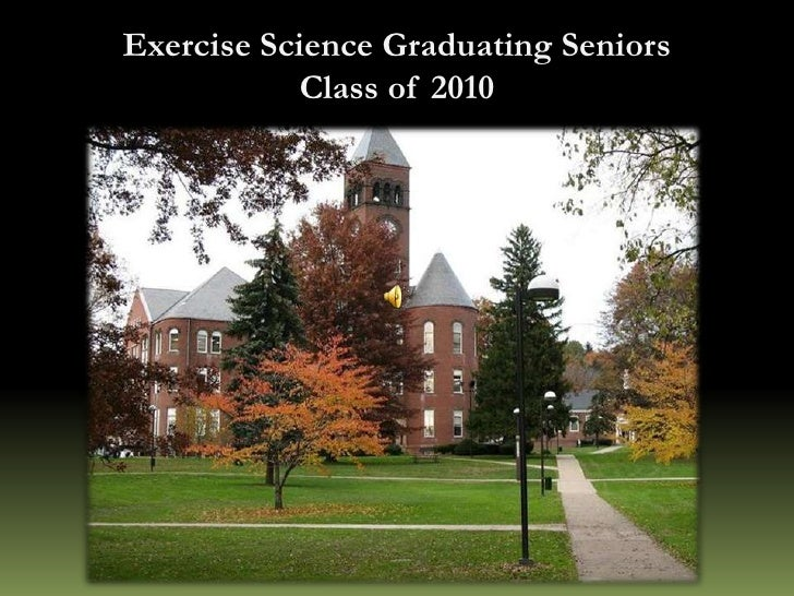 Exercise Science Graduating Seniors<br />Class of 2010<br />