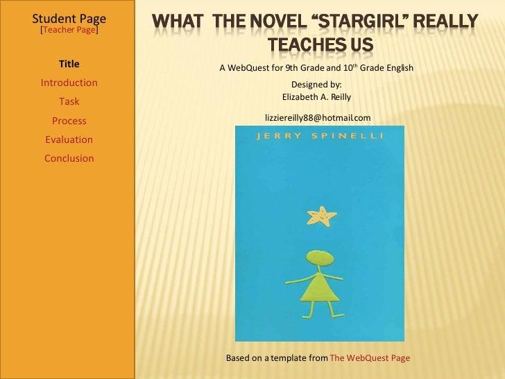 """What the Novel """"Stargirl"""" Really Teaches Us"""