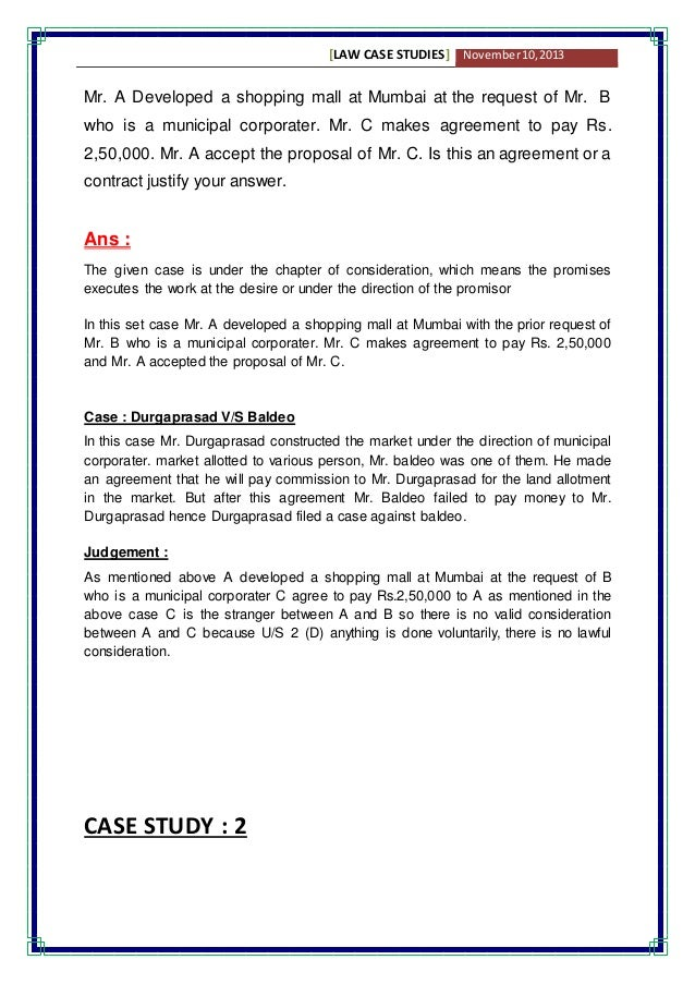 business case study report example case study report