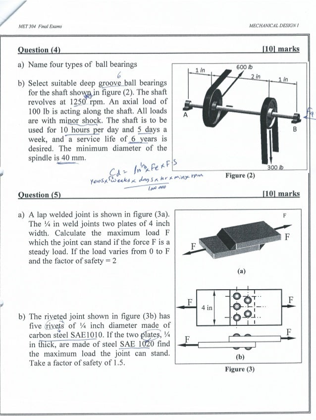 MET 304-Final Examination 2