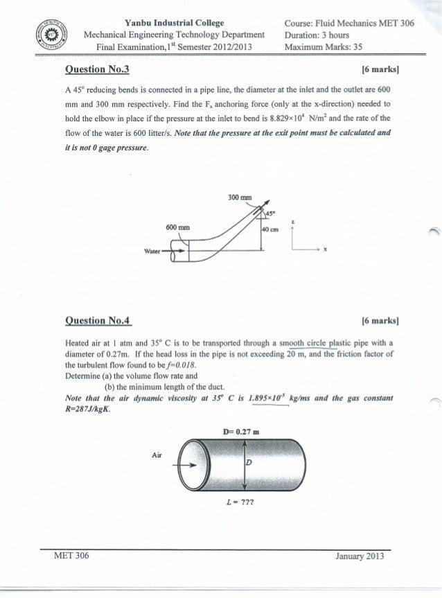 MET 306 Final Examination 2