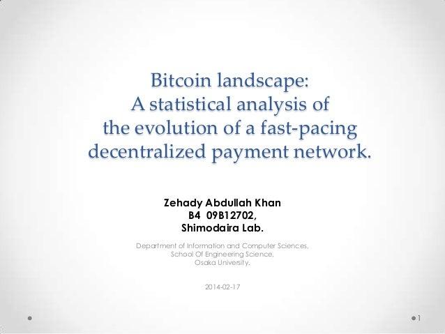 Bitcoin Network Analysis