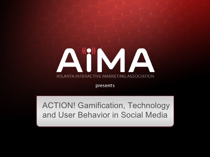 AiMA August 2011 Social Media Gamification event