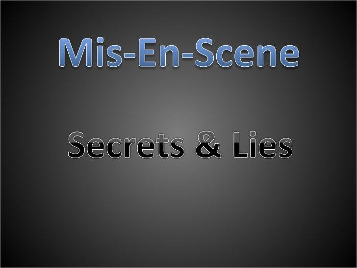 Secret and Lies - Ruba