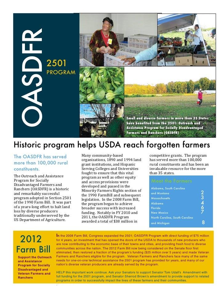 Final 2501 program brief