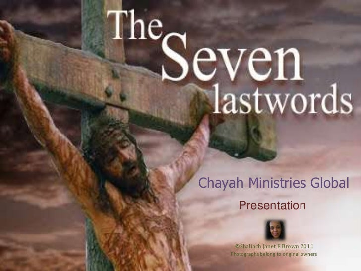 Chayah Ministries Global<br />Presentation<br />©Shaliach Janet E Brown 2011<br />Photographs belong to original owners<br />