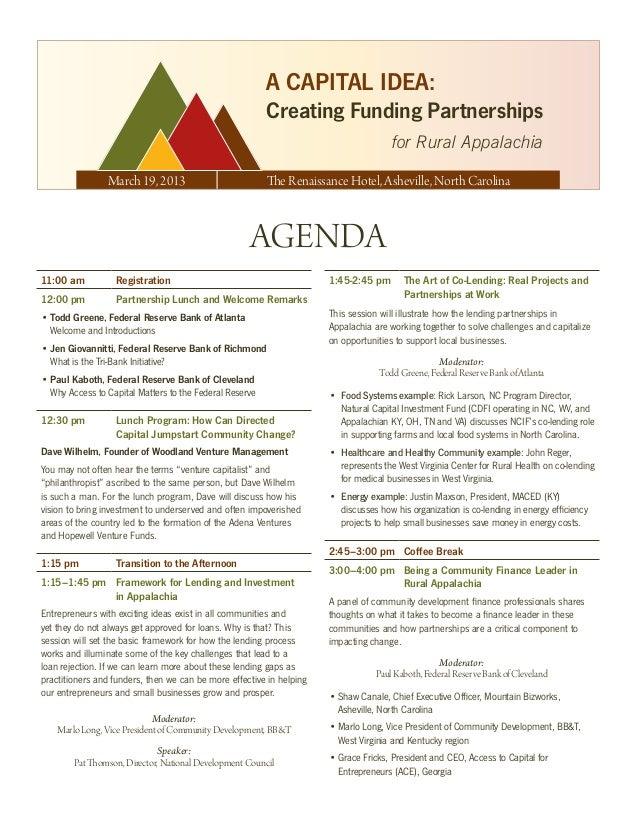 Final agenda.tri bank.asheville