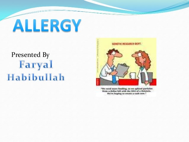 importance of history of allergy in dentistry