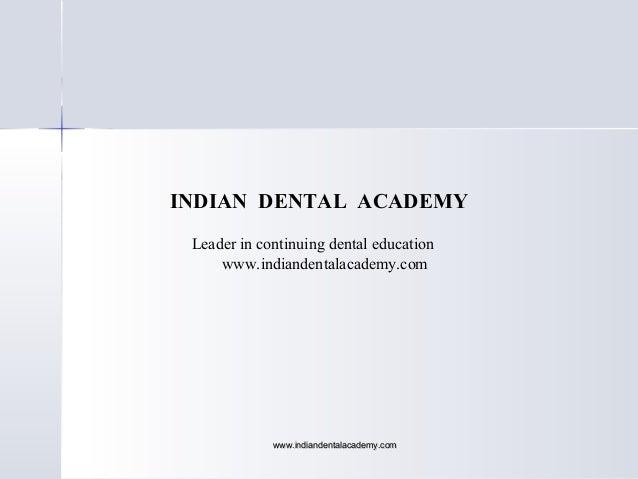 Final anatomic landmarks/ online orthodontic courses