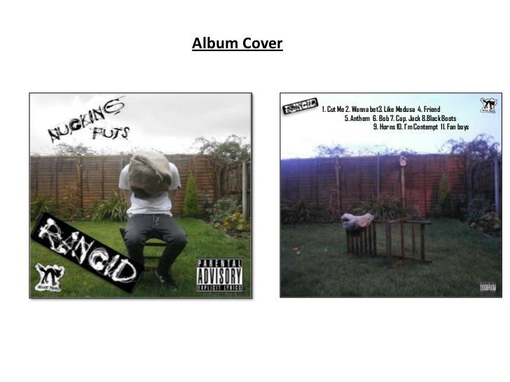 Album Cover              1. Cut Me 2. Wanna bet3. Like Medusa 4. Friend                       5. Anthem 6. Bob 7. Cap. Jac...