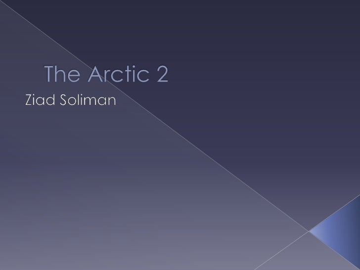 Final Arctic Gd Ppt