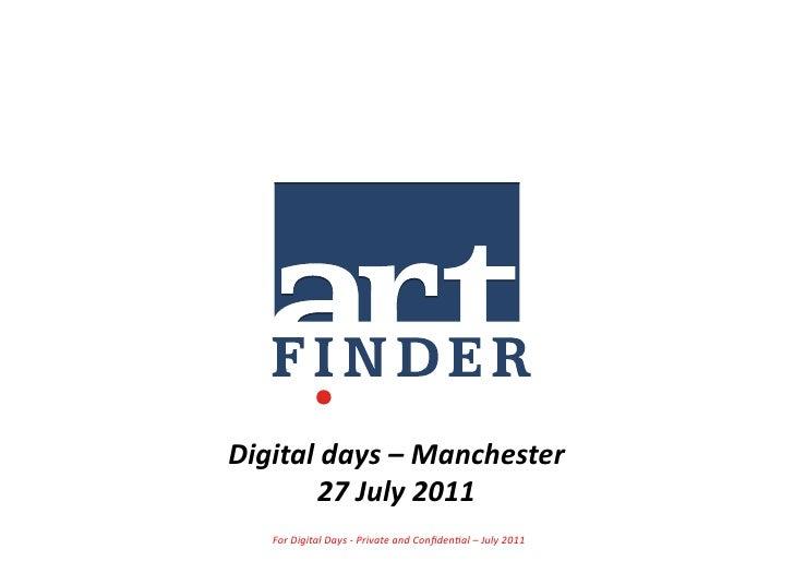 Case study:  Artfinder