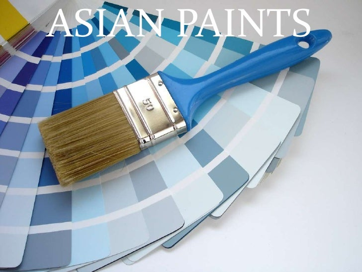 Asian Paints- The Indian Paint Industry Giant