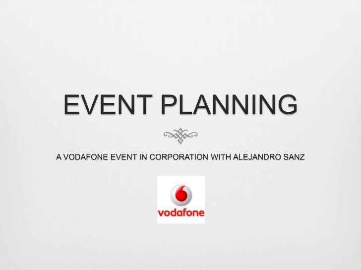The objectives   My client is Vodafone and I decided to make a tribute event for the top one hundred    clients of Vodafo...