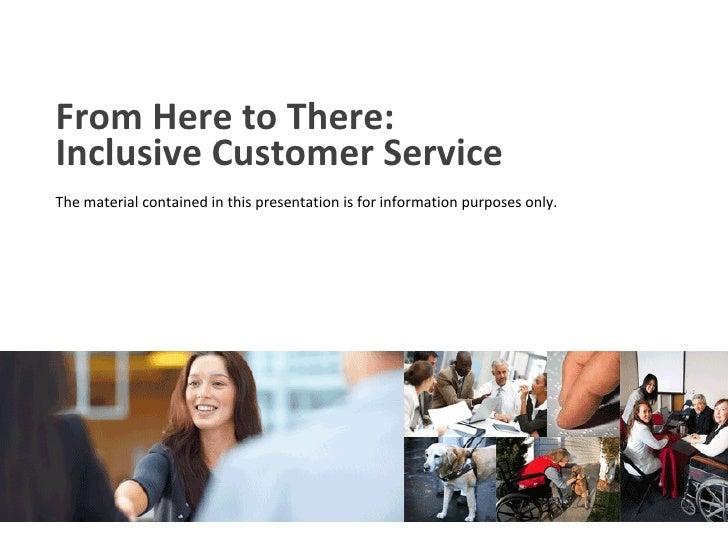 AODA Customer Service Standard