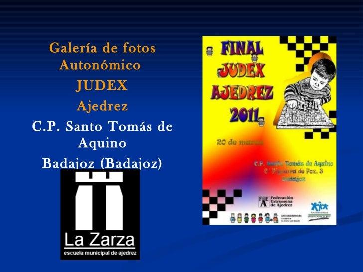 Final autonomico judex 2011