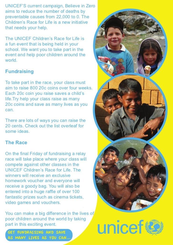 UNICEF PROMO BACK COVER