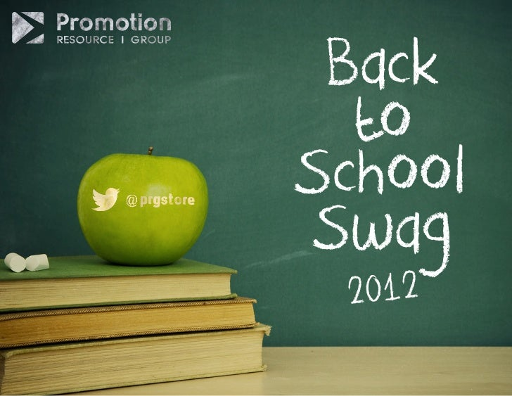 Back  toSchoolSwag 2012