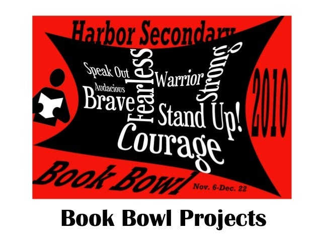 Book Bowl Projects