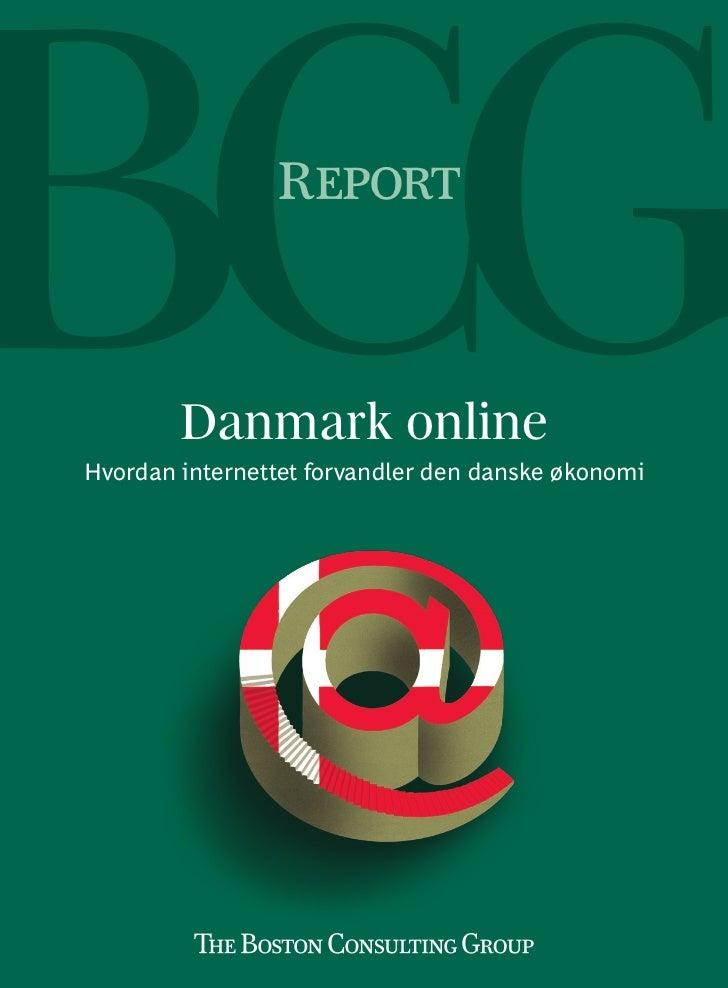 BCG Online- Hvordan Internettet forvandler den danske økonomi