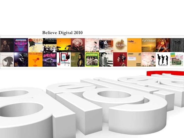 Believe Digital Presentation