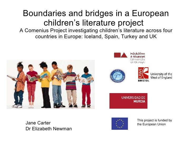 Boundaries and bridges in a European children's literature project