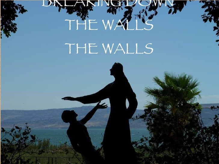 BREAKING   DOWN  THE WALLS THE WALLS