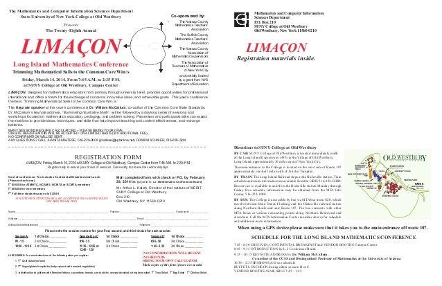 LIMACON 2014