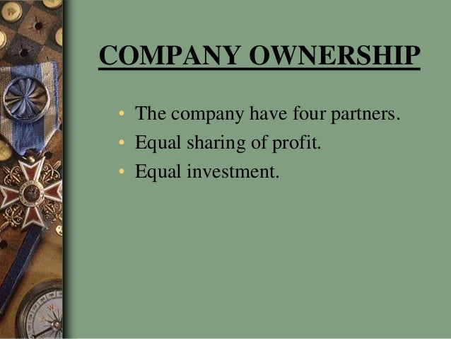 Company ownership business plan