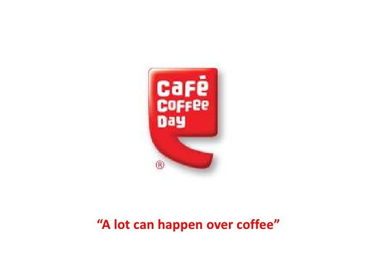"""A lot can happen over coffee"""