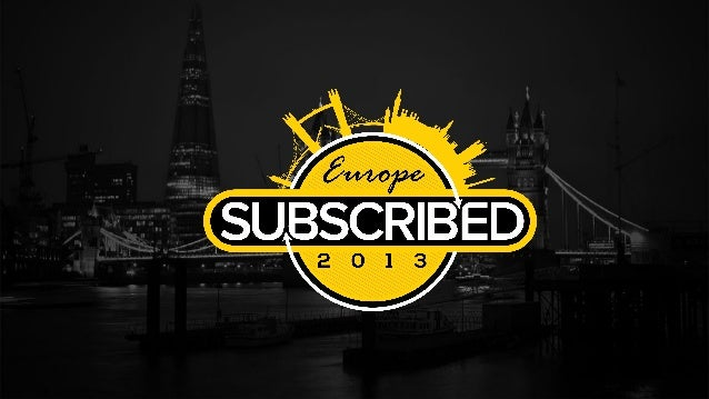 Subscribed 2013 Europe: CEO's Keynote
