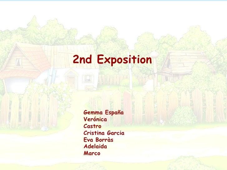 Gemma España Verónica Castro Cristina Garcia Eva Borràs Adelaida Marco 2nd Exposition