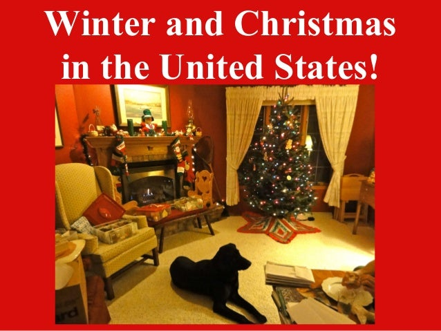 Winter and Christmasin the United States!