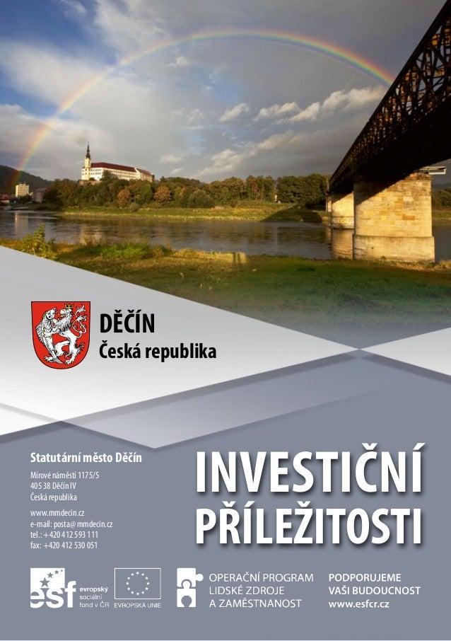 Investiční příležitosti města Děčín