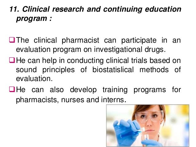 Are there education programs for being a Pharmacist?