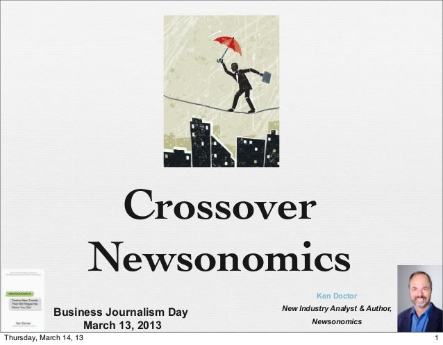 Creating new business models for journalism – the American experience