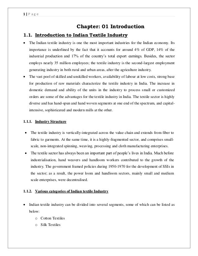 project report on readymade garments tiny Small-scale women entrepreneurship in readymade garment industry - an overview 72 31 introduction human resource, both of men and women of working age constitutes.