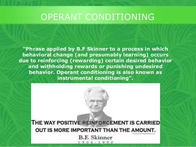 classical and operant conditioning and substance Phobias and addictions  classical and operant conditioning are two  the term addiction is also applied to compulsions not substance related,.
